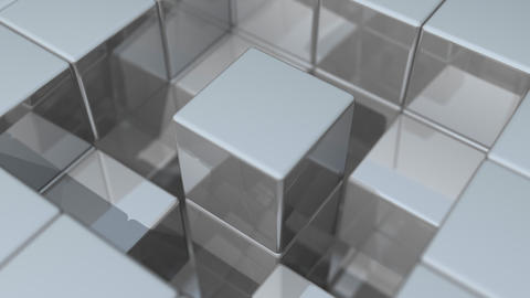 Reflective Cubic Surface Animation