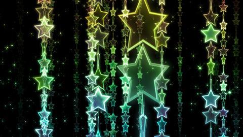 Chain line Star 1 Rm Sb 4 K CG動画素材
