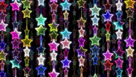 Chain line Star 1 Wf Sb 4 K CG動画素材
