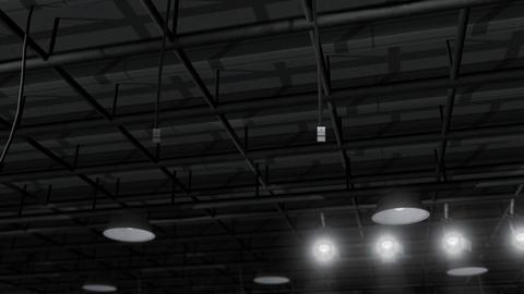 Sound Stage Lighting Stock Video Footage