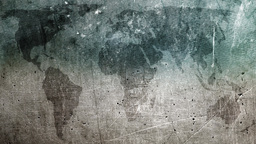 Still image of grunge map for titles CG動画素材