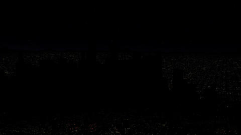 4 K Modern City Power Outage Energy Blackout at Night v 2 4 Animation