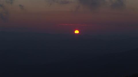 Setting sun Stock Video Footage