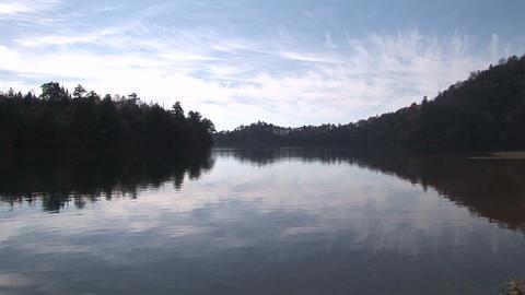 Autumn Lake Stock Video Footage
