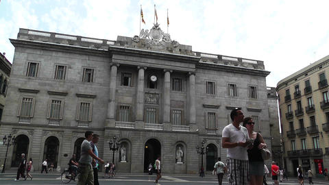 Barcelona City Hall Footage
