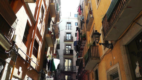 Barcelona Downtown 04 Stock Video Footage