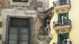 Barcelona Facade 02 Footage