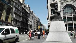 Barcelona Via Layetana 02 Fransesc Cambo Footage