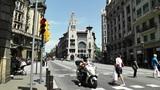 Barcelona Via Layetana 04 Footage
