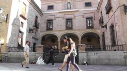 Church of San Gines Madrid Footage