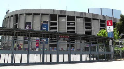 Estadi Camp Nou 01 Stock Video Footage