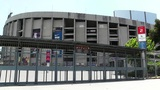 Estadi Camp Nou 01 stock footage