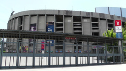 Estadi Camp Nou 03 pans Footage