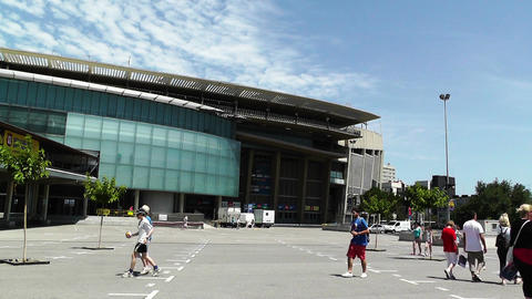 Estadi Camp Nou 05 Stock Video Footage