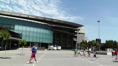 Estadi Camp Nou 05 Stock Video Footage