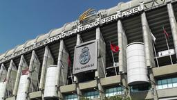 Estadio Santiago Bernabeu Madrid 03 Stock Video Footage