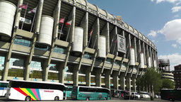 Estadio Santiago Bernabeu Madrid 07 Footage
