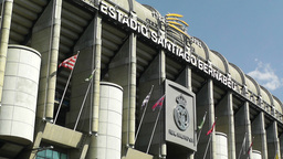 Estadio Santiago Bernabeu Madrid 09 Stock Video Footage