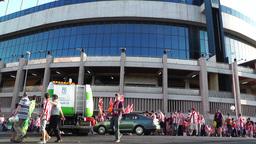Estadio Vicente Calderon before match Copa Del Rey Final 2012 01 Footage