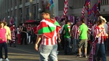 Estadio Vicente Calderon before match Copa Del Rey Final 2012 03 handheld Footage