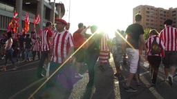 Estadio Vicente Calderon before match Copa Del Rey Final 2012 05 handheld Footage
