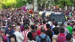 Estadio Vicente Calderon before match Copa Del Rey Final... Stock Video Footage