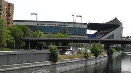 Estadio Vicente Calderon Madrid 01 Footage