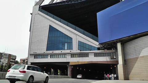 Estadio Vicente Calderon Madrid 05 Stock Video Footage