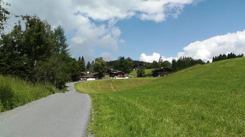 European Alps Austria 10 Stock Video Footage