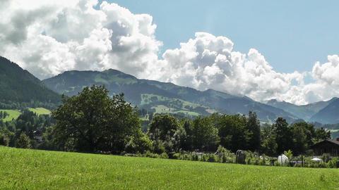 European Alps Austria 12 Stock Video Footage