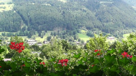 European Alps Austria 24 Stock Video Footage