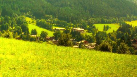 European Alps Austria 30 stylized Stock Video Footage