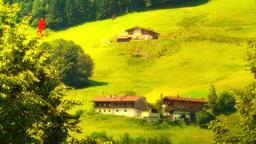 European Alps Austria 33 Hahnenkamm stylized Footage
