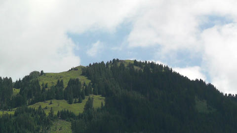 European Alps Austria Clouds Timelapse 05 Stock Video Footage