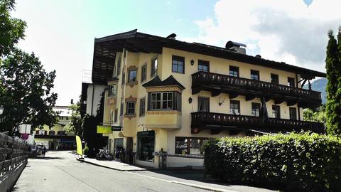 European Alps Town in Austria 04 Stock Video Footage