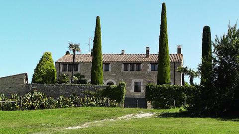 Hacienda in Spain 02 Stock Video Footage