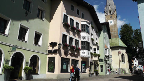 Kitzbuhel Austria 01 Stock Video Footage