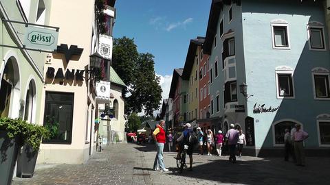 Kitzbuhel Austria 03 Stock Video Footage