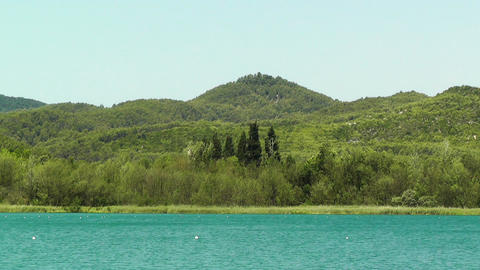 Lake Banyoles in Spain Catalonia 04 Stock Video Footage