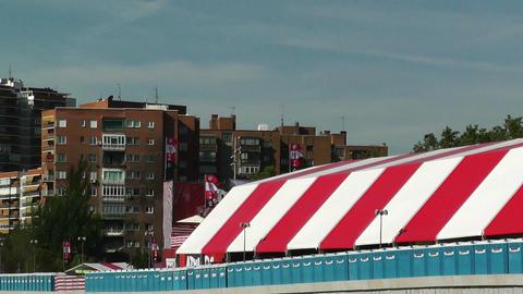 Madrid before Copa del Rey Final 2012 Athletic Bilbao... Stock Video Footage