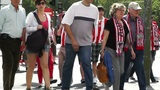 Madrid before Copa del Rey Final 2012 Athletic Bilbao Fans 03 Footage