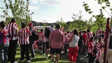 Madrid before Copa del Rey Final 2012 Athletic Bilbao Fans 07 Footage