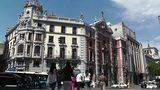 Madrid Calle De Alcala and Gran Via crossing 02 Footage