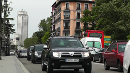 Madrid Calle De Bailen 02 Stock Video Footage