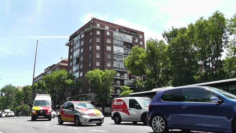 Madrid Calle De Segovia 01 Stock Video Footage