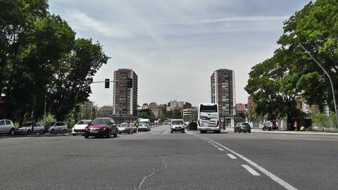 Madrid Calle De Segovia 03 Footage