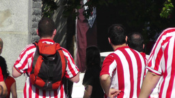 Madrid Casa De Campo before Copa del Rey Final 2012 Athletic Bilbao Fans 03 Footage