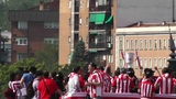 Madrid Casa De Campo before Copa del Rey Final 2012 Athletic Bilbao Fans 07 Footage