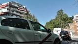 Madrid Cuesta de San Vicente 01 traffic Footage