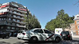 Madrid Cuesta de San Vicente 01 traffic Footage